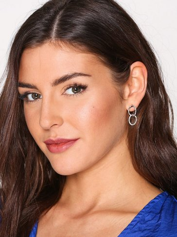 NLY Accessories - Rhinestone Chain Link Earrings