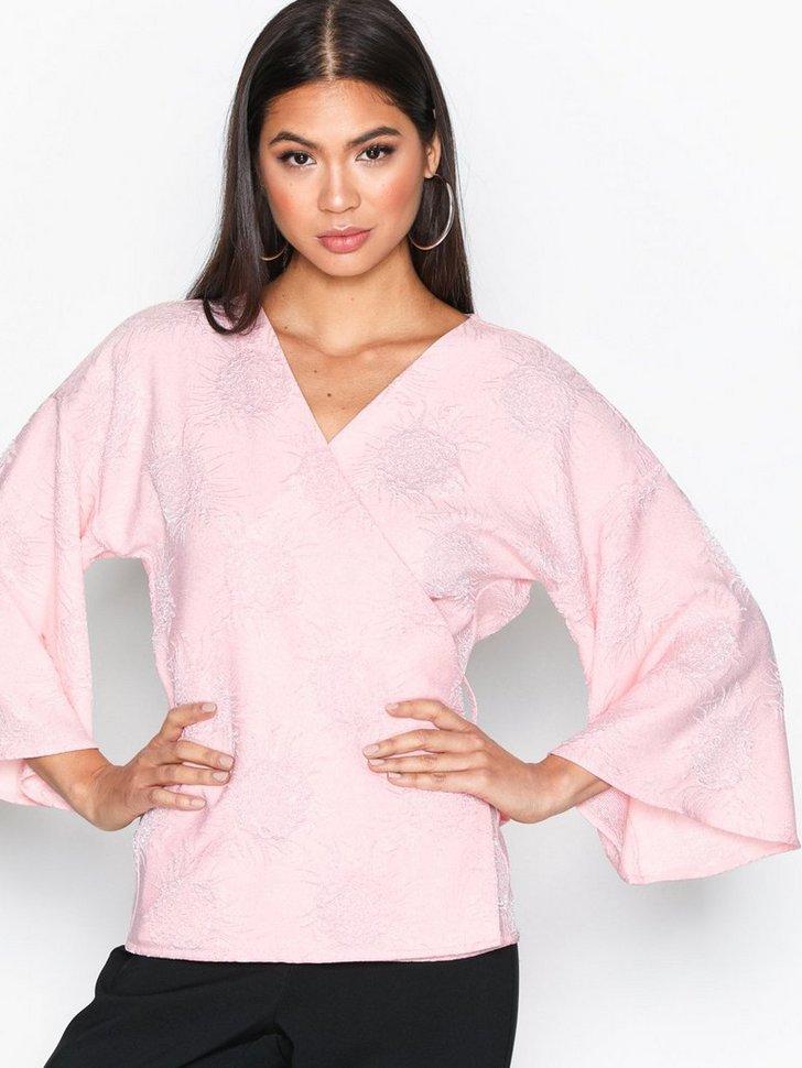 Festbluse Kimono Blouse køb festbluser
