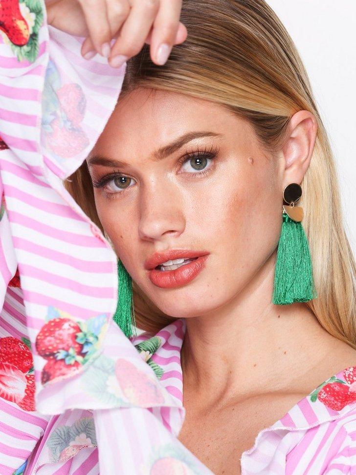 Geo Tassel Earrings festtøj smykker