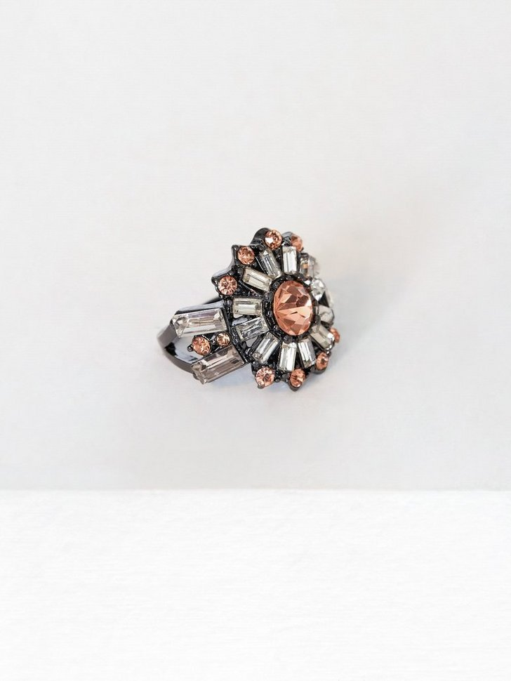 Mega Crystal Ring festtøj smykker