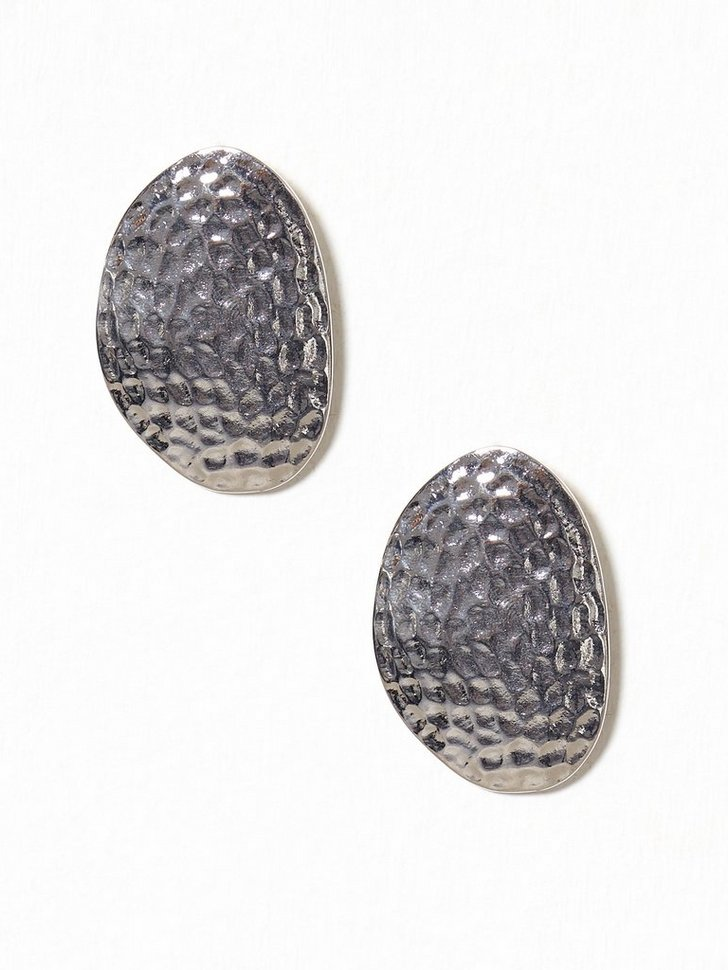 Nelly.com SE - Hammered Big Stud Earring 128.00