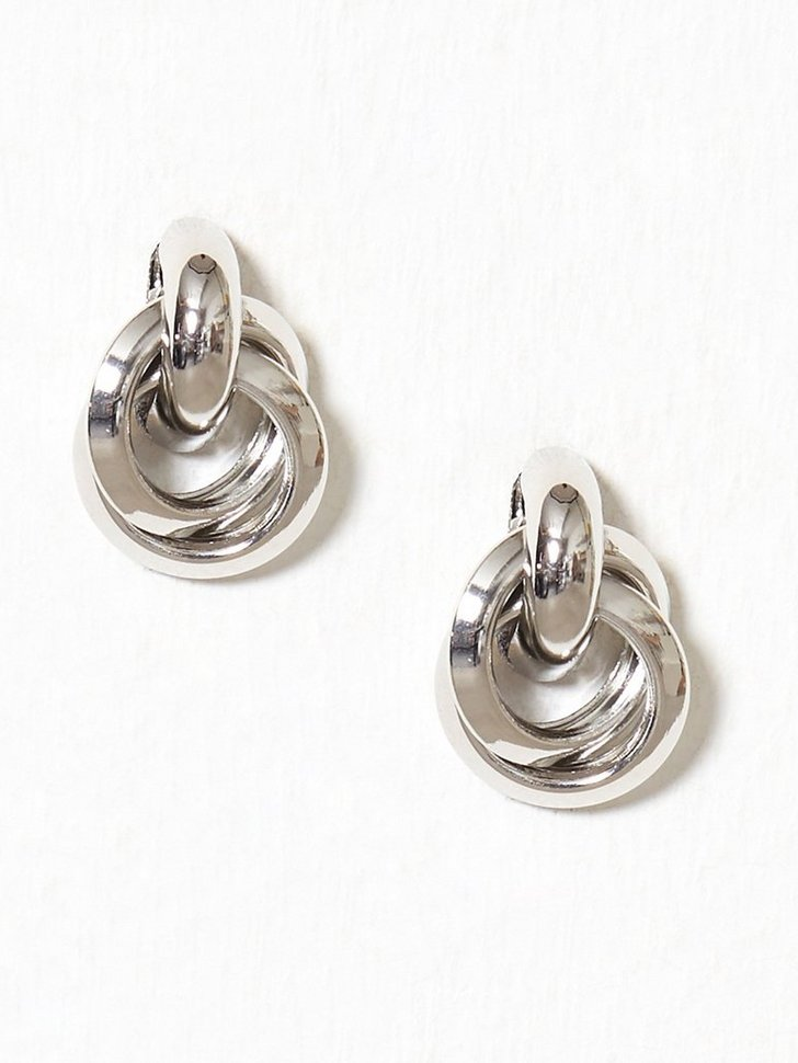 Link Hoop Earrings festtøj smykker