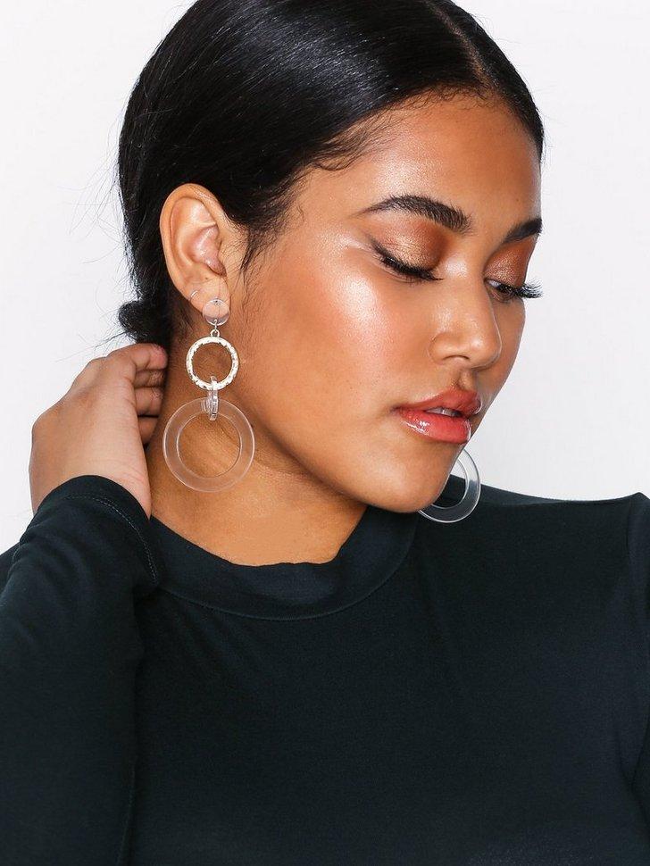 Hoop Drop Earrings køb smykker