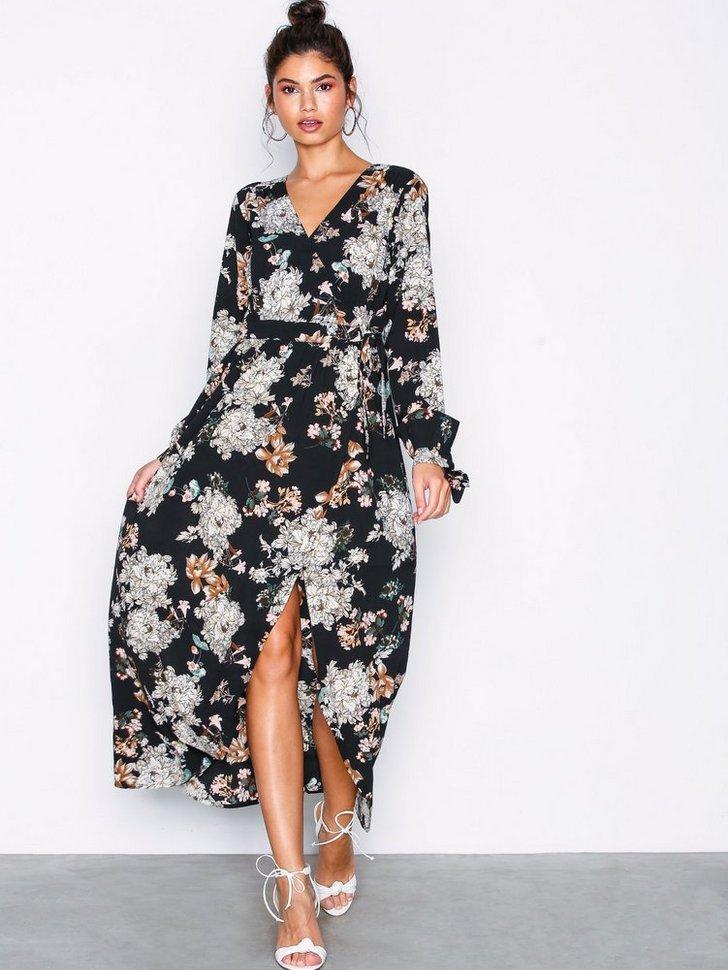 Nelly.com SE - Long Wrap Dress 498.00