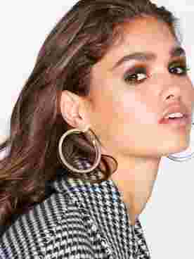 Thick Texture Hoops
