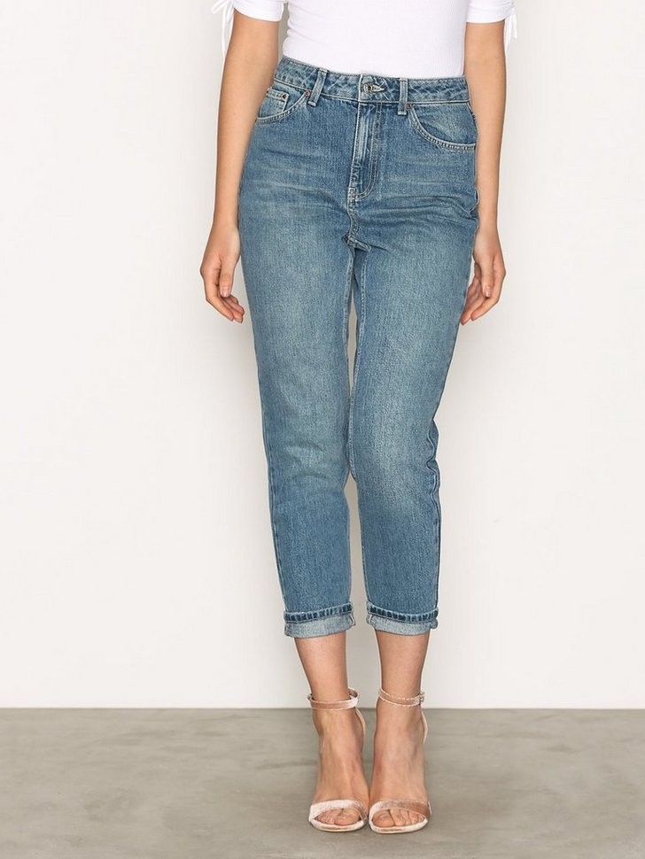 Nelly.com SE - MOTO Vintage Blue Mom Jeans 249.00 (498.00)