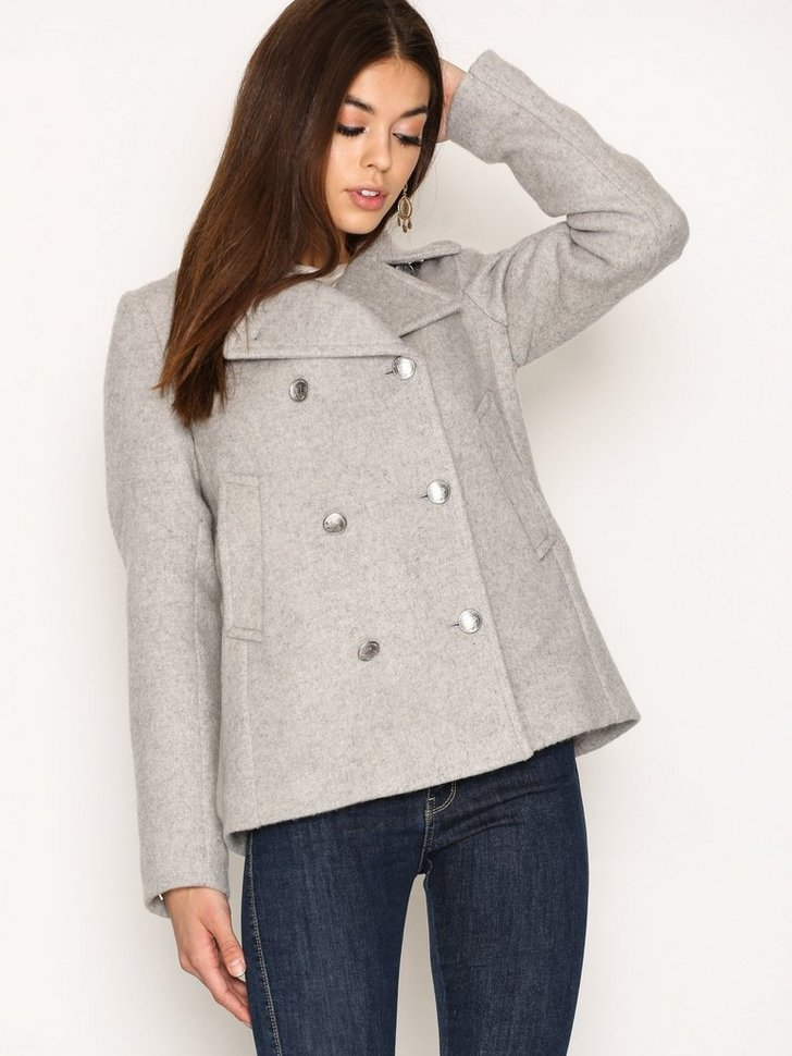 Nelly.com SE - O1. Bonded Wool Pea Coat 3498.00