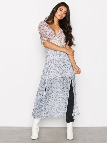 Topshop - Rainbow Midi Dress