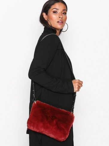 Topshop - Faux Fur Cross Body Bag