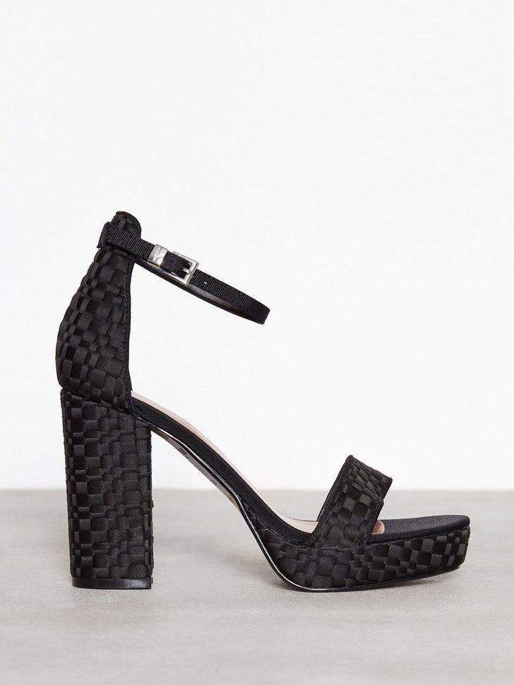 Heels Sloane Woven Platform Sandals - festtøj mode