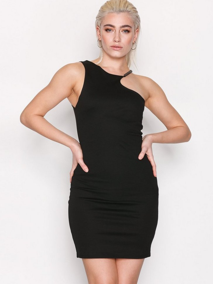 Festkjole Chain Curve Mini Bodycon Dress festtøj
