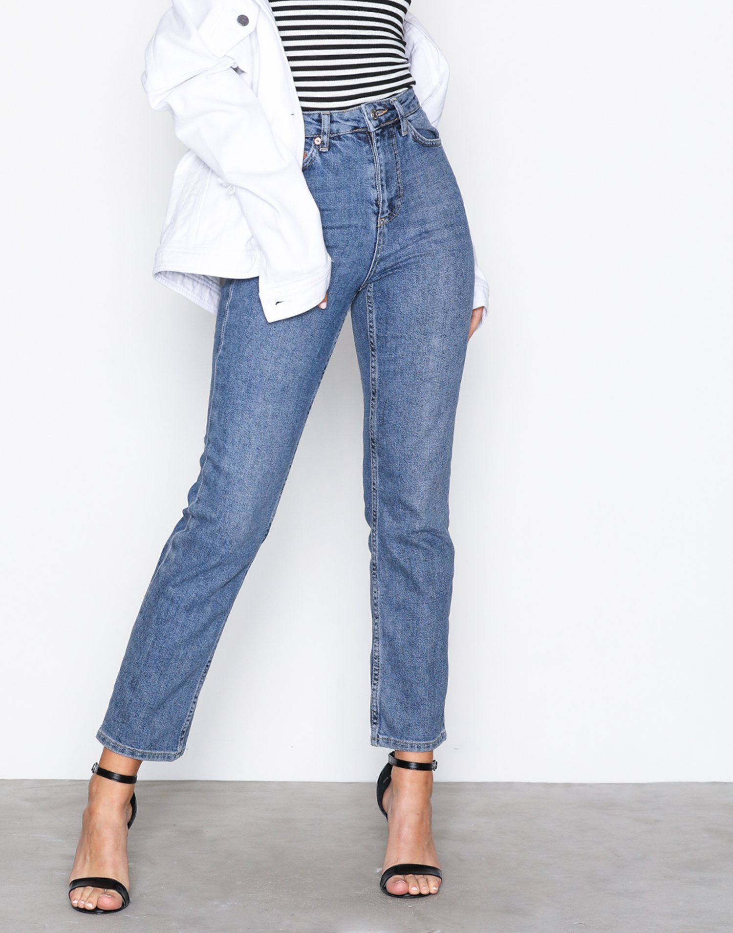 Mtd Straight Jeans by Topshop