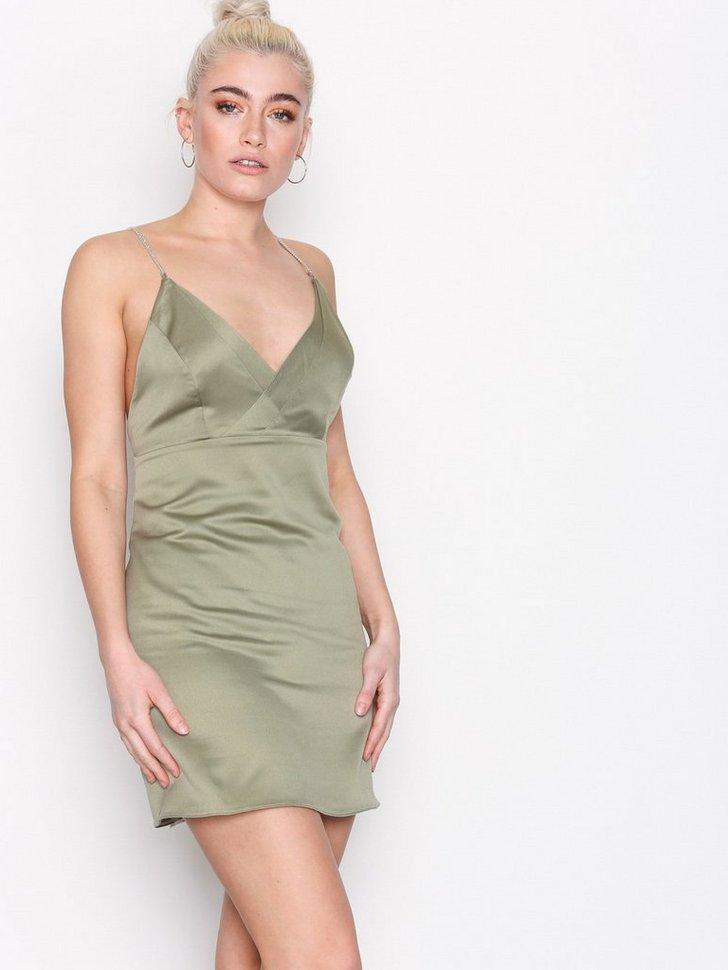Nelly.com SE - Diamante Strap Mini Slip Dress 269.00 (448.00)