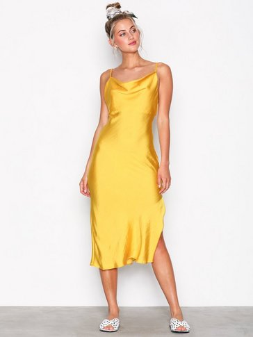 Topshop - Cowl Neck Slip Dress
