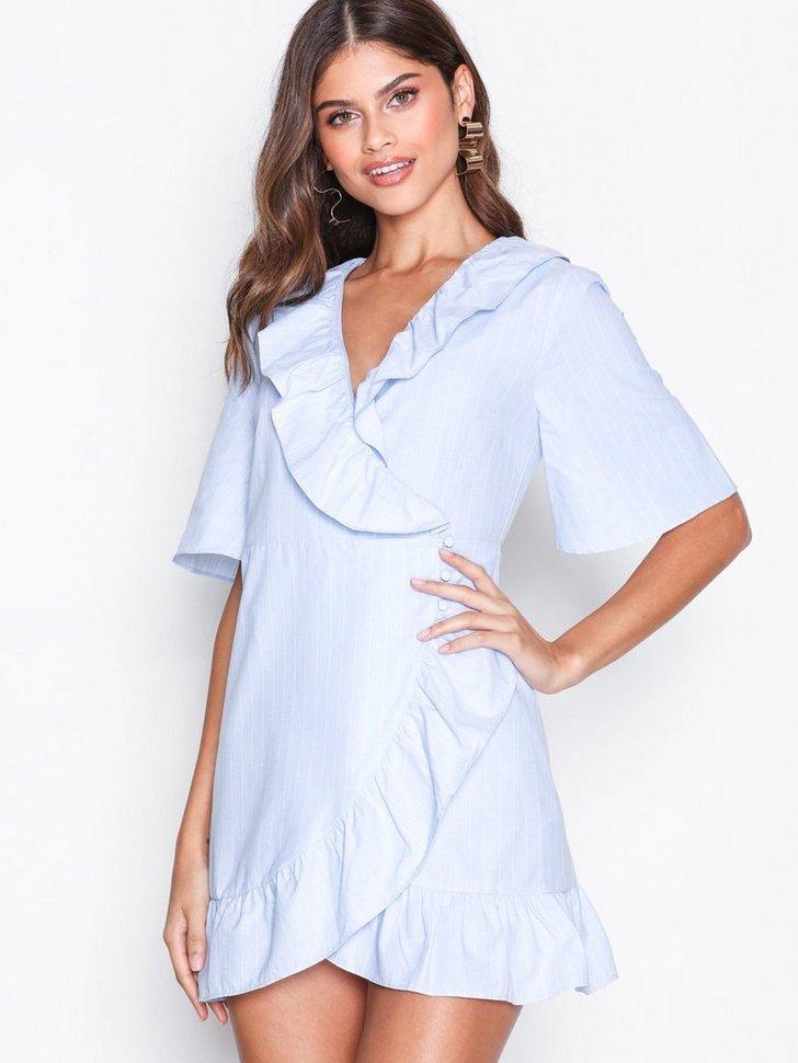 Nelly.com SE - Poplin Ruffle Mini Dress 398.00