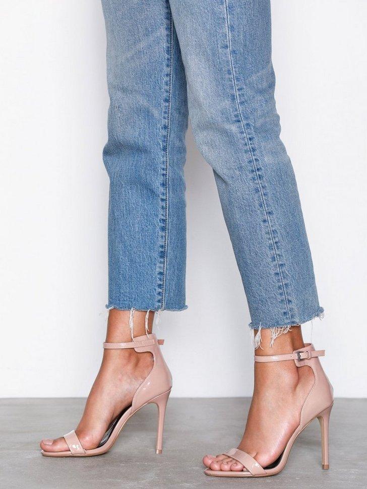 Festsko Patent Skinny Sandals køb