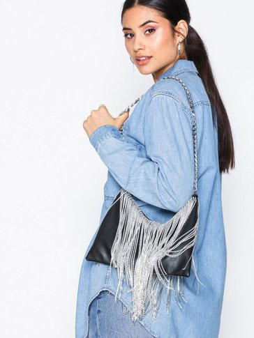 Topshop - Diamante Shoulder Bag