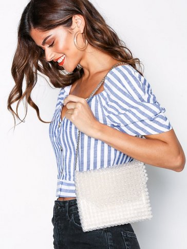 Topshop - Beaded Shoulder Bag