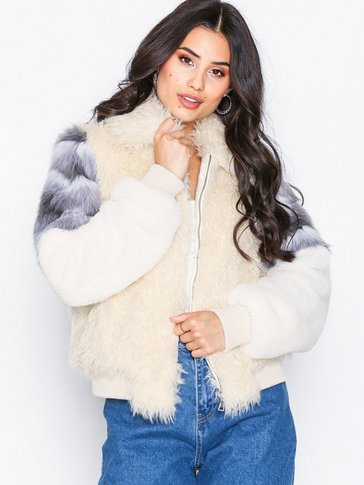 NLY Trend - Fuzzy Patch Bomber