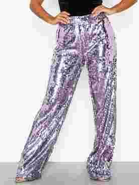 Sequin Wide Pants
