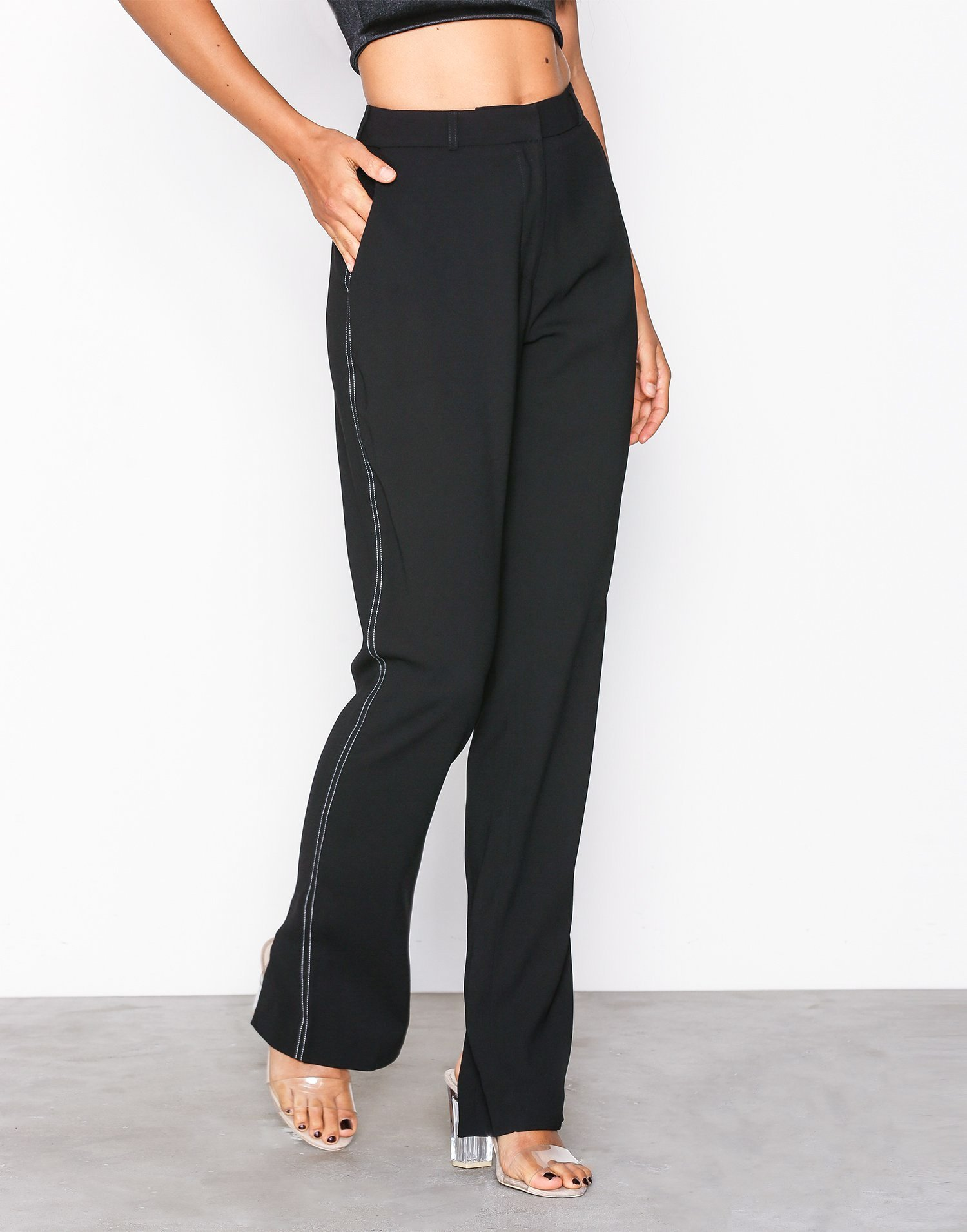 Slit Back Pants by Nly Trend