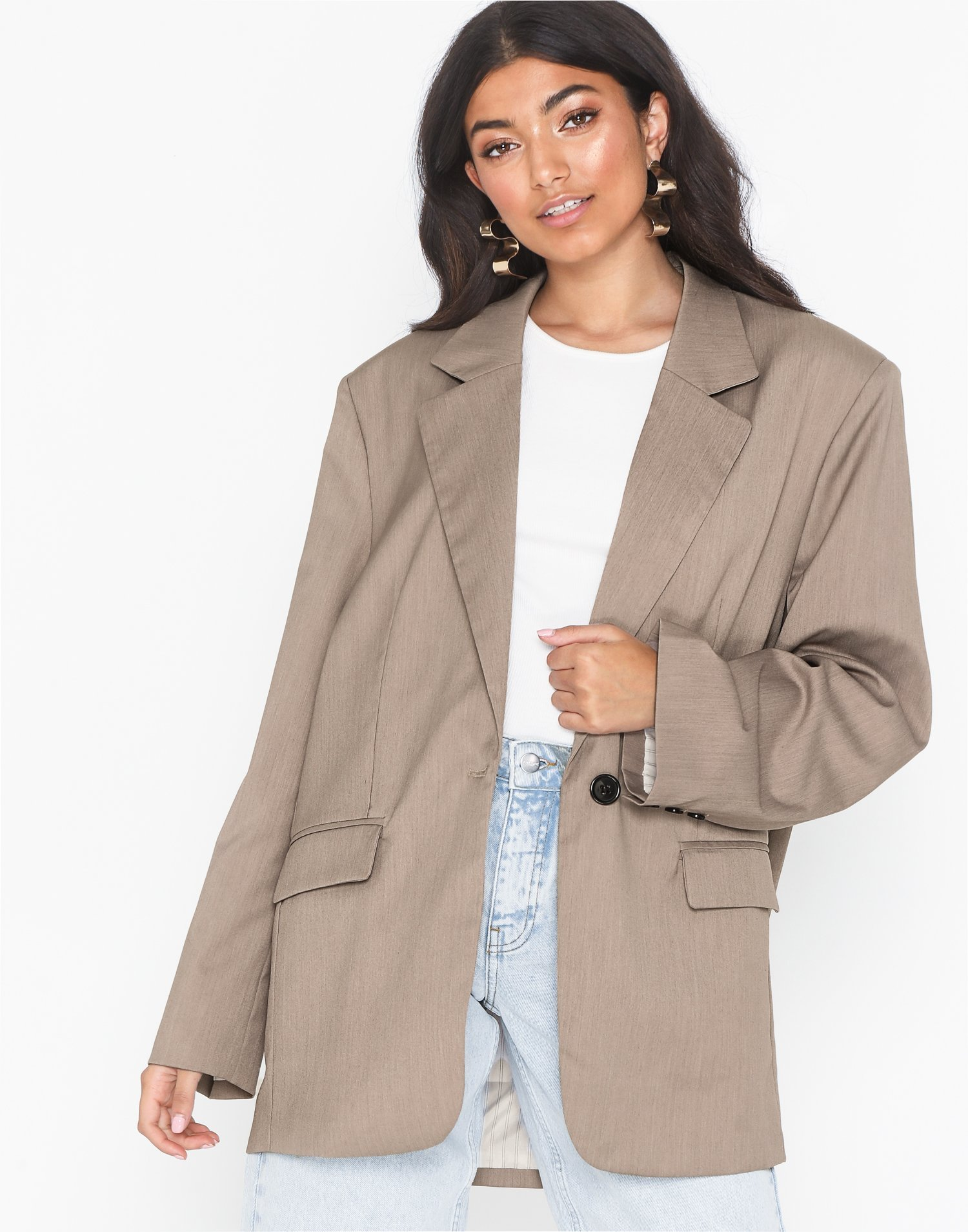Great Wide Blazer by Nly Trend