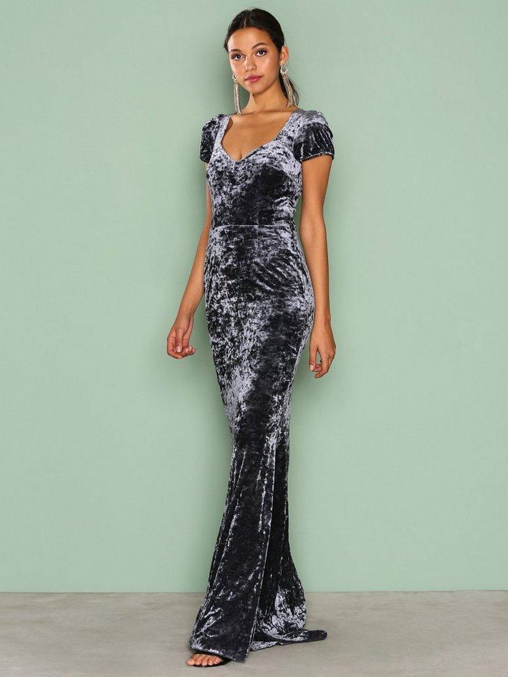 Gigi Velvet Dress køb festkjole