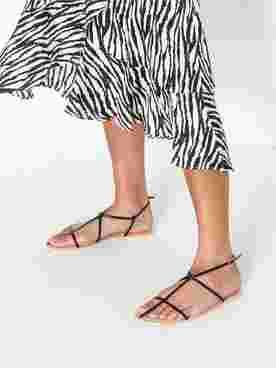Thin Multi Strap Sandal