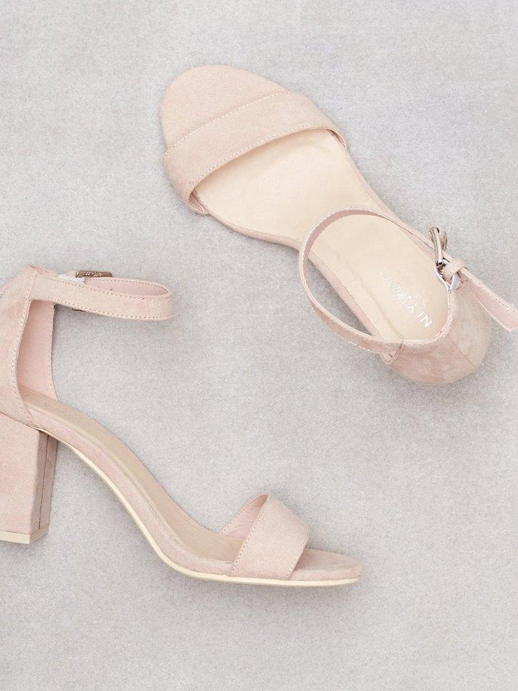 Heels Block Mid Heel Sandal - festtøj mode