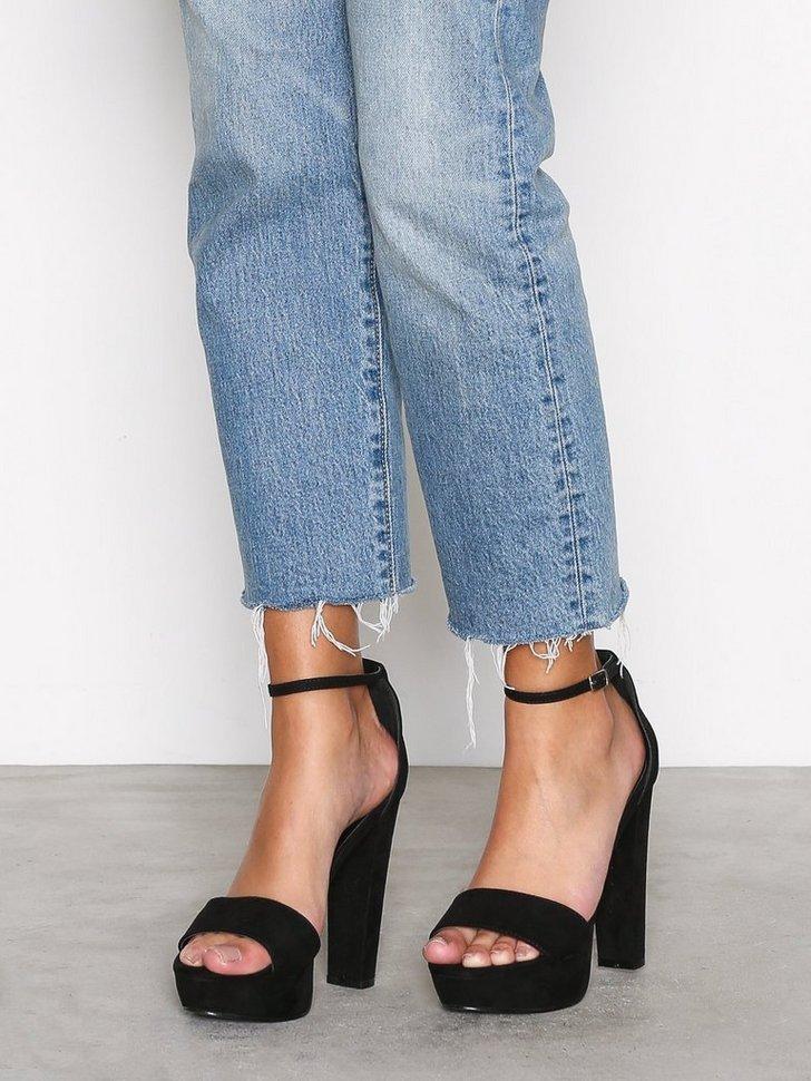 Festsko Platform Heel Sandal køb