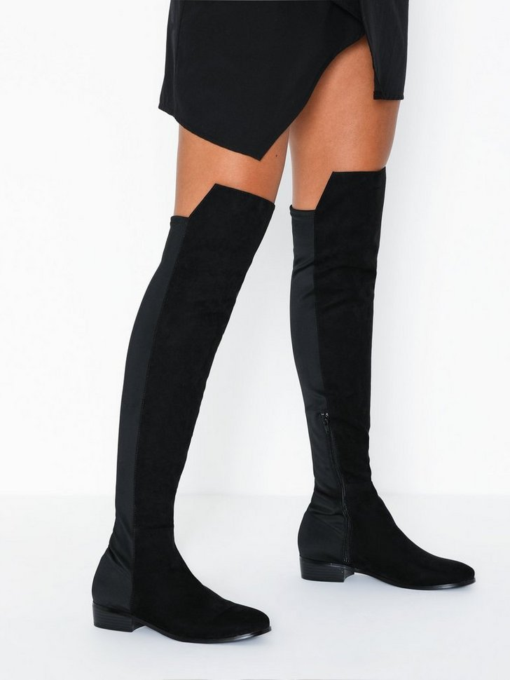Nelly.com SE - Mixed Material Thigh Boot 598.00