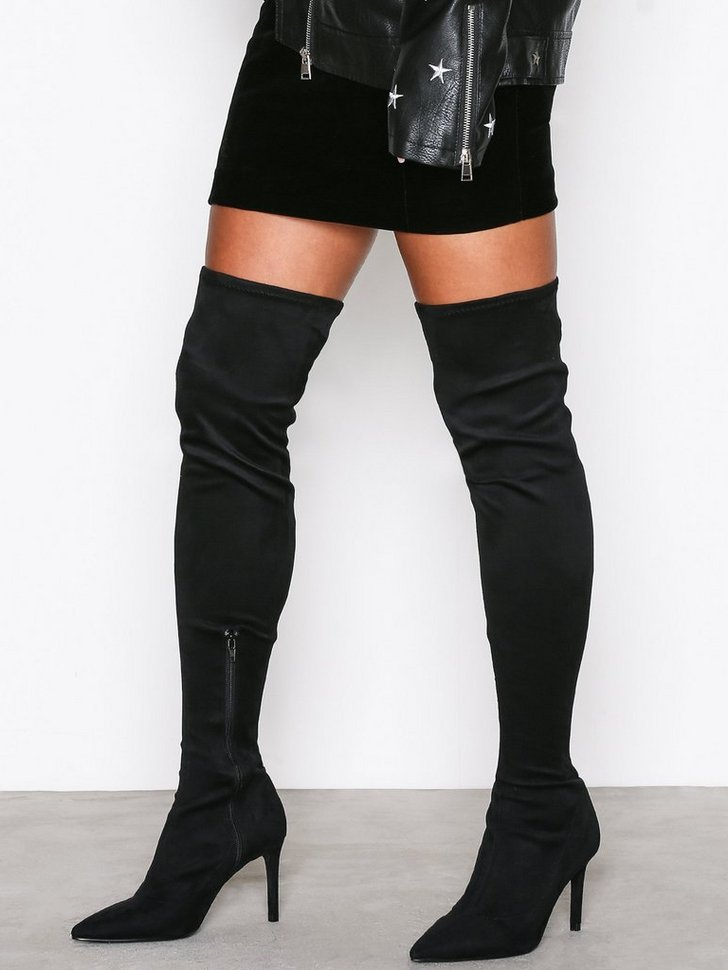 Nelly.com SE - Pointy Stiletto Thigh Boot 648.00