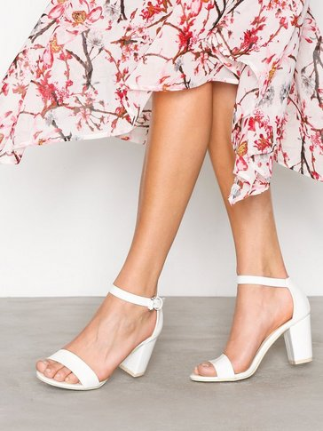 Nly Shoes - Block Mid Heel Sandal