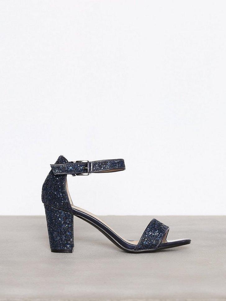 Festsko Block Mid Heel Sandal køb