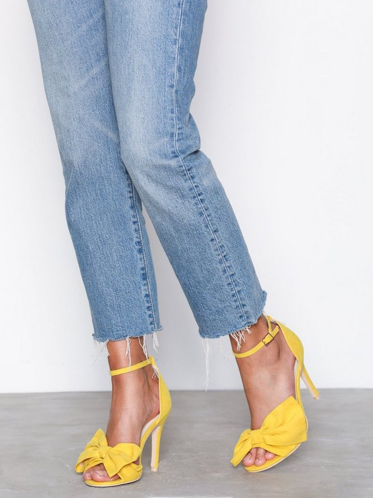 Festsko Bow Stiletto Sandal køb