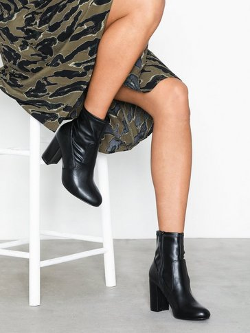 Nly Shoes - Basic Block Boot
