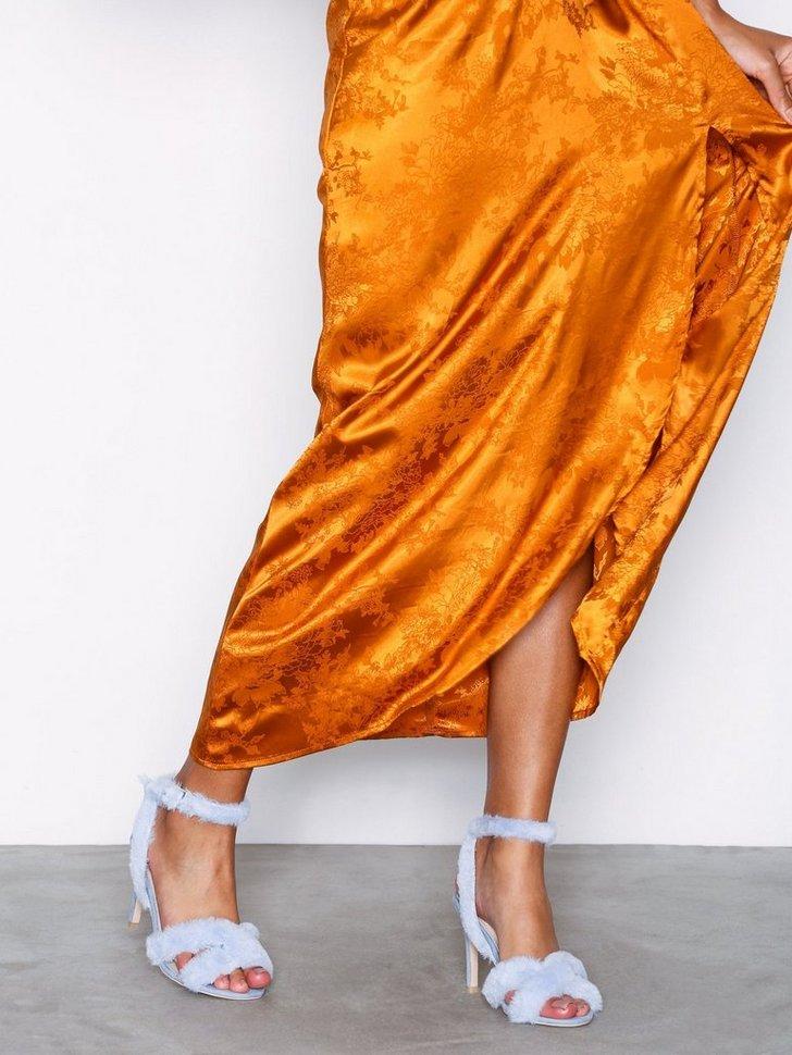 Festsko Fuzz Heel Strap Sandal køb