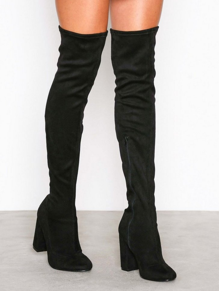 Nelly.com SE - Block Heel Thigh Boot 598.00