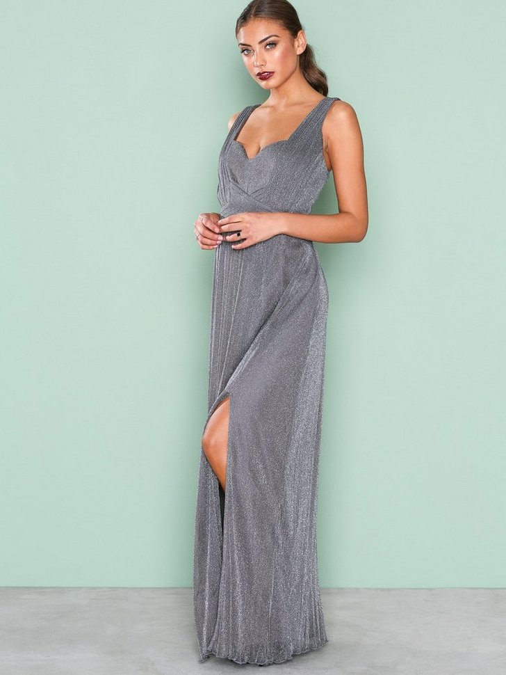 Glitter Maxi Dress køb festkjole