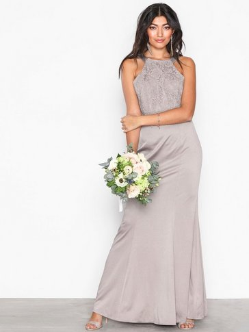 Little Mistress - Lace Overall Maxi Dress