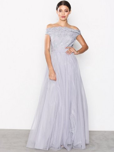 Little Mistress - Embroidered Mesh Dress