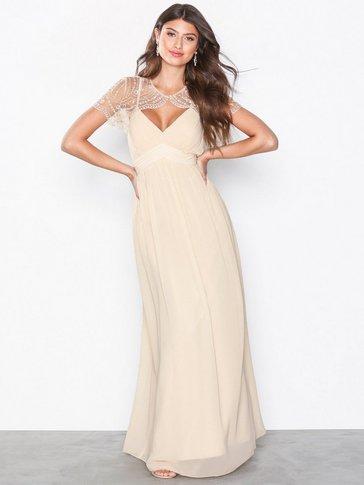 Little Mistress - Detail Top Maxi Dress