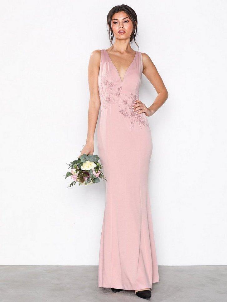 Festkjole Rose Maxi Dress festtøj