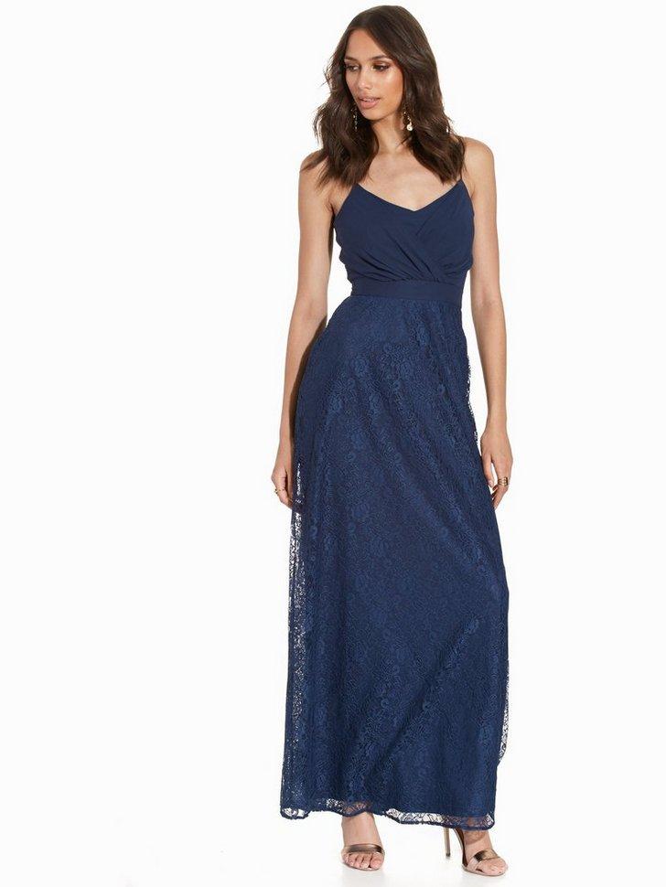 Maxi Strappy Dress køb festkjole