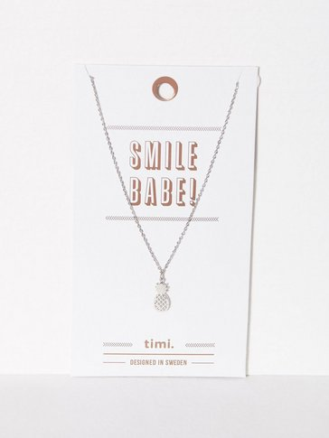 MINT By TIMI - 2D Pineapple Necklace
