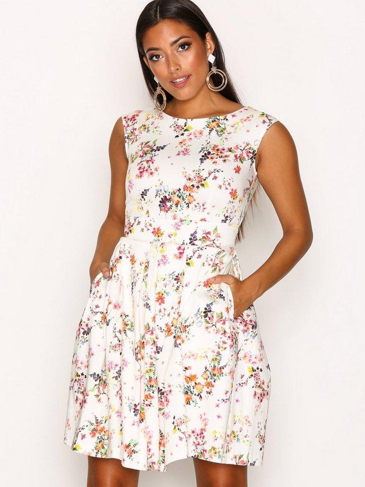 Small Floral Tie Back Dress køb festkjole