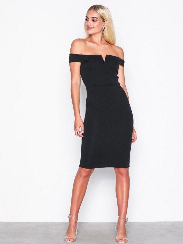 Nelly.com SE - V Front Bardot Midi Dress 378.00