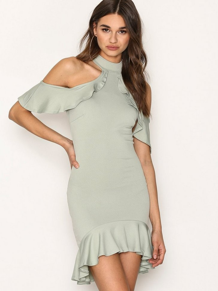Nelly.com SE - High Neck Cold Shoulder Midi Dress 238.00 (298.00)