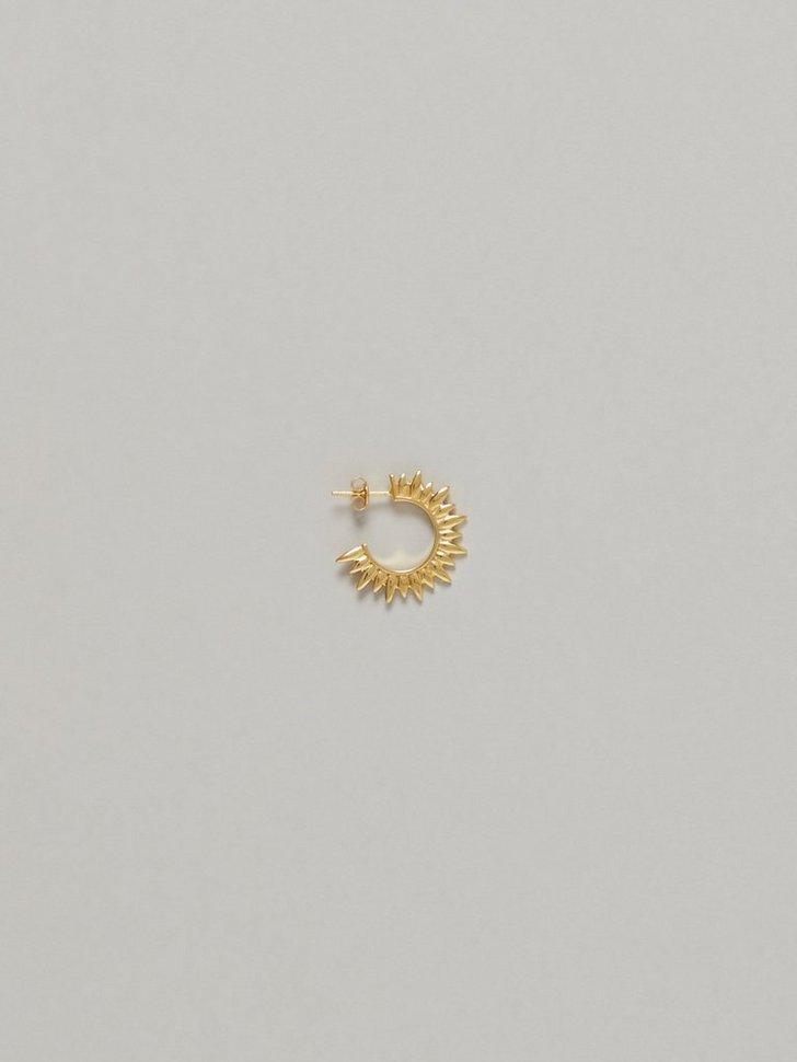 Smykker Sun Hoop Earring - festtøj mode