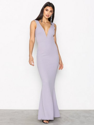 Missguided - Plunge Maxi Dress